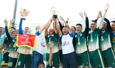 Bắc Giang vô địch giải bóng đá Vùng 2 - Amazing Cup 2020