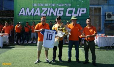 Sôi động lễ Khai mạc Giải Bóng đá Vùng 2 - Amazing Cup 2020